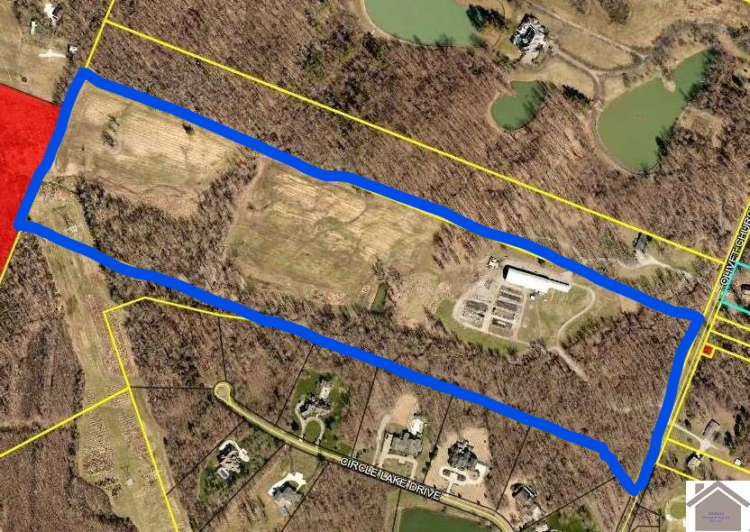 SOLD! 53 Acres On Olivet Church Road Paducah, KY 42001 $625,000 MLS#101421
