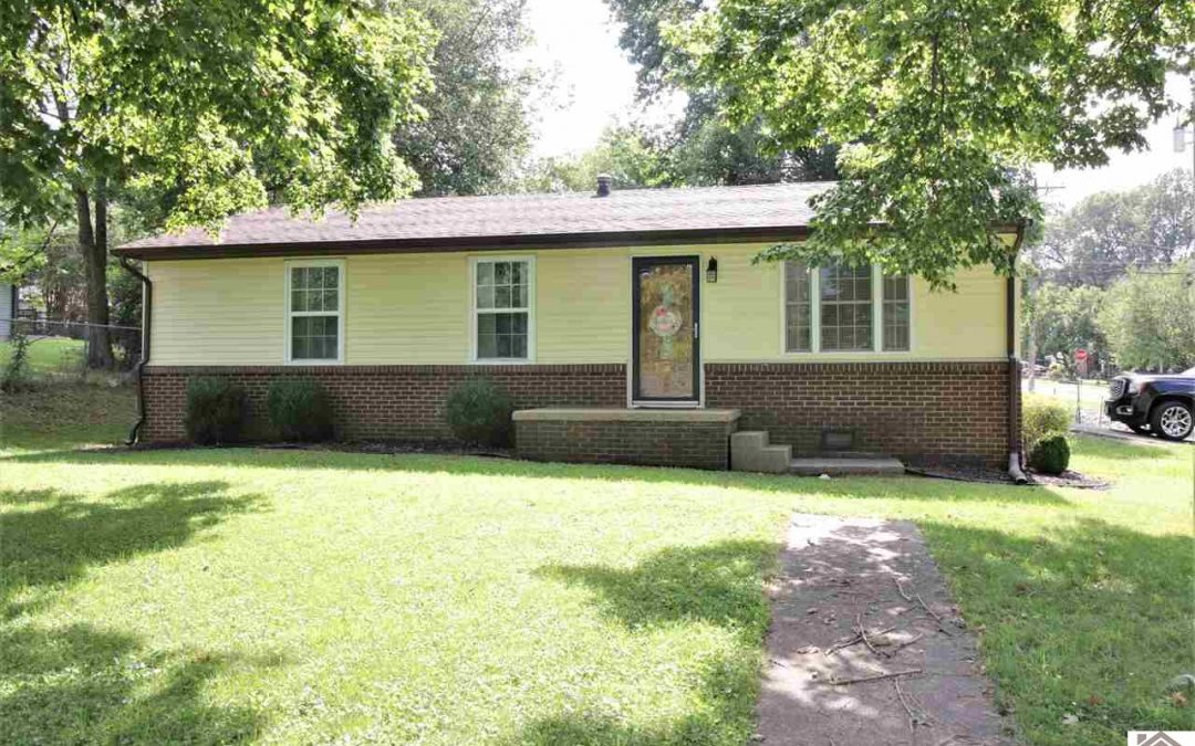 NEW LISTING! 515 East 6th Avenue Calvert City, KY 42029 $104,900 MLS#109018
